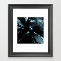 Daydreams Like Mainframe… Framed Art Print