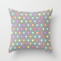 Careless Woman Pattern V1 Throw Pillow