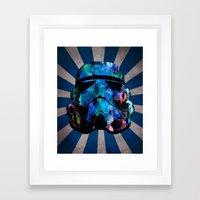 Star Wars StormTrooper (watercolor) Framed Art Print