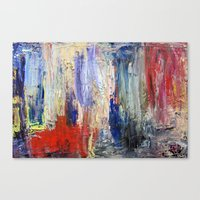 Untitled Abstract #5 Canvas Print