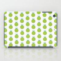 Green Appels iPad Case