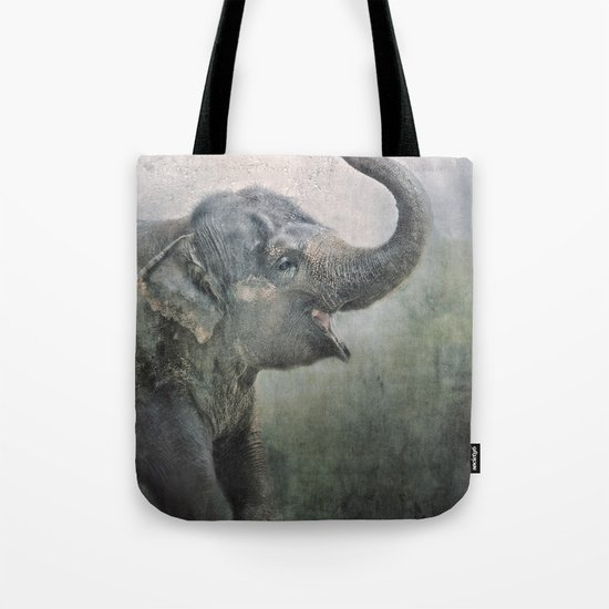 Happy Elephant! Tote Bag