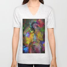 Wait Foxy Lady Unisex V-Neck