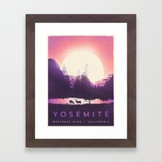 Yosemite — National Park Framed Art Print
