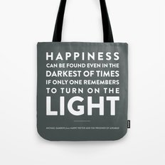 Light - Quotable Series Tote Bag