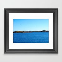 Swedish Summer Framed Art Print