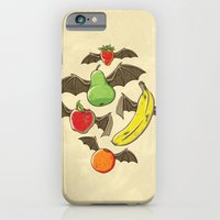 iPhone & iPod Case featuring Fruit Bats by WanderingBert / David Creighton-Pester