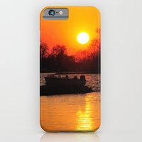 iPhone & iPod Case featuring Silhouettes and Fire by Captive Images Photography