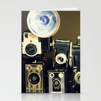 Vintage Camera Collectio… Stationery Cards