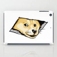 Ceiling Doge iPad Case