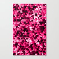 Stainded Canvas Print