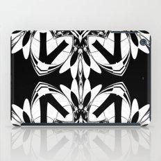 HALF BLACK AND WHITE MANDALA  iPad Case