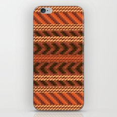 warao pattern iPhone & iPod Skin