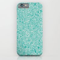 Chalk Doodle iPhone 6 Slim Case