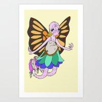 The Mosh Fairy Art Print