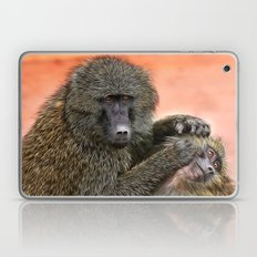 I Told You To Wash Behind Your Ears! Laptop & iPad Skin