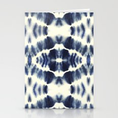 BOHEMIAN INDIGO BLUE Stationery Cards
