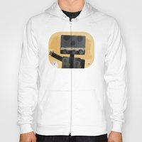 Happy Robot Happy Cat Hoody