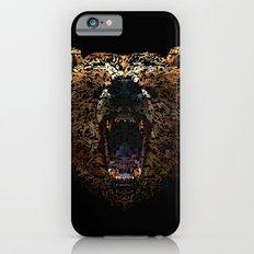 Floral Bear iPhone 6 Slim Case