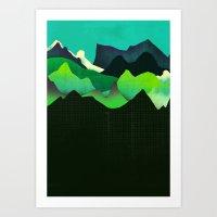 Landscape Slice Art Print