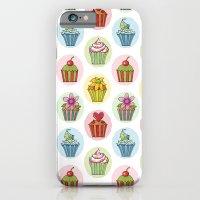 Quirky Cupcakes iPhone 6 Slim Case