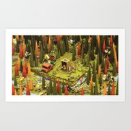 Forest Life Art Print