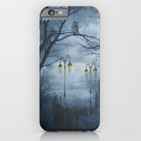 iPhone & iPod Case featuring Two Lone Wolves by TaLins