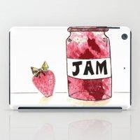 Strawberry VS Jam iPad Case
