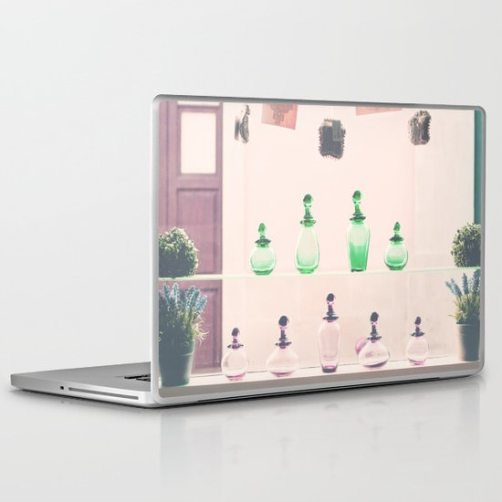 Vintage window Laptop & iPad Skin