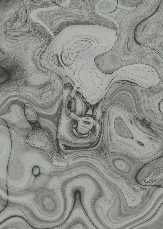warp1 Art Print