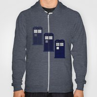 The Materializing TARDIS Hoody
