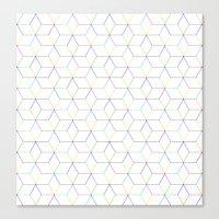 Shapes & Colors Canvas Print