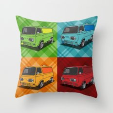 Vantastic Throw Pillow