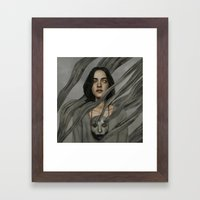 Deconstruction.  Framed Art Print