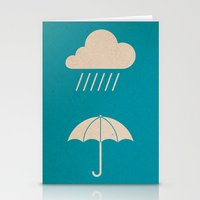 Save An Umbrella For A R… Stationery Cards