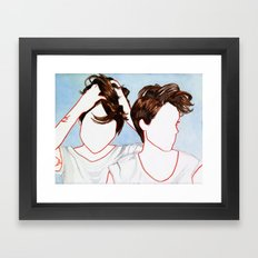 Tegan and Sara Framed Art Print