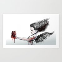 The Heart Theif Art Print