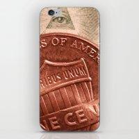 Money! iPhone & iPod Skin