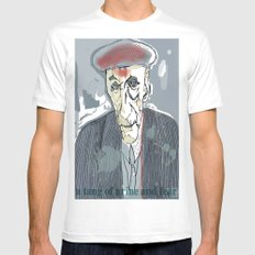 William S. Burroughs Mens Fitted Tee White SMALL