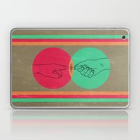 Pull your finger out  Laptop & iPad Skin