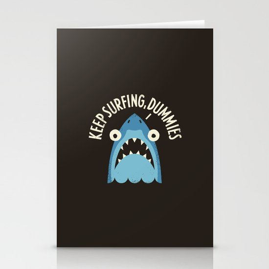 Great White Snark Stationery Card