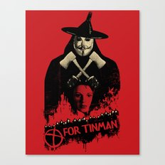 T For Tinman Canvas Print