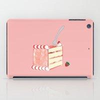 Creative Strawberry Shortcake iPad Case