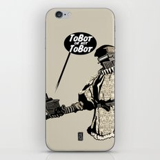 To Bot Or Not To Bot iPhone & iPod Skin