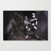 Boarding Party Canvas Print