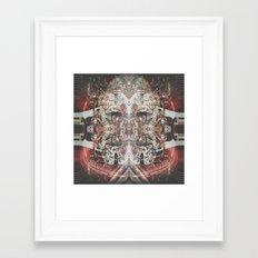 Gem Shimmer Soul Framed Art Print
