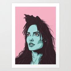 Queen of the Ravens Art Print