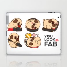 You Look Fab! -Puglie Laptop & iPad Skin