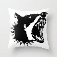 Gypsys Dog Throw Pillow