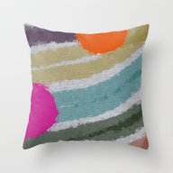 *Colors* Throw Pillow